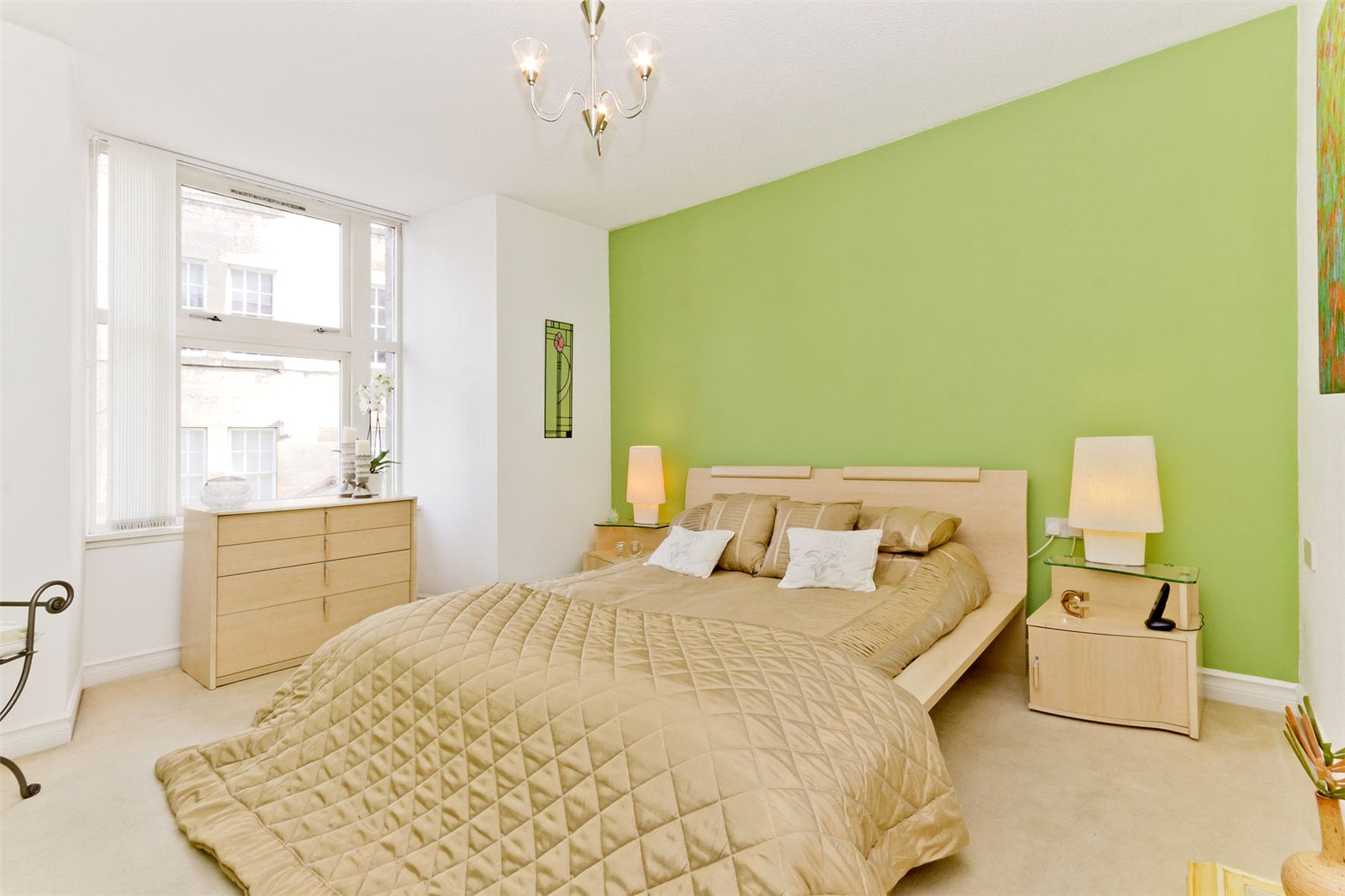 Bedroom of Flat 4, St Georges Gate