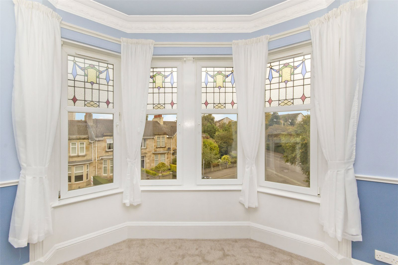 300a Kilmarnock Road bay window