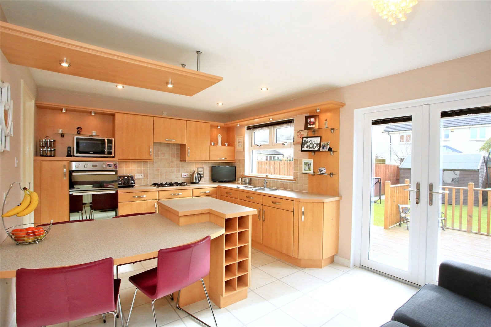 kitchen of 34 pennan road