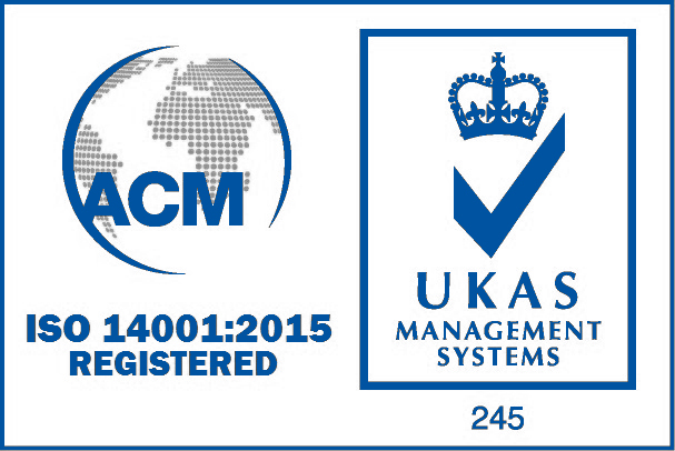 ISO 14001:2015 Accredited