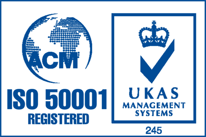ISO 50001 Accredited