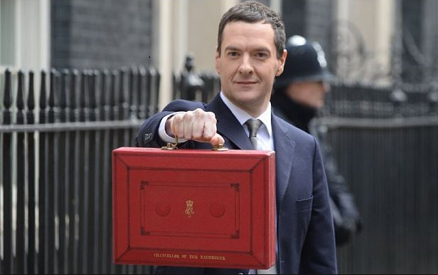 Chancellor George Osborne cashes in on pension pots