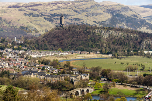 Stirling named as UK's 'most affordable city'