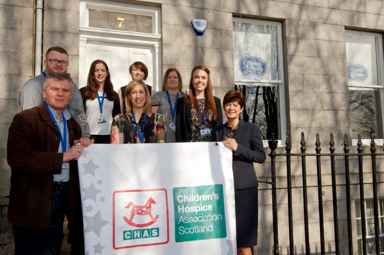 Aberdein Considine donates £33,000 to children's charity