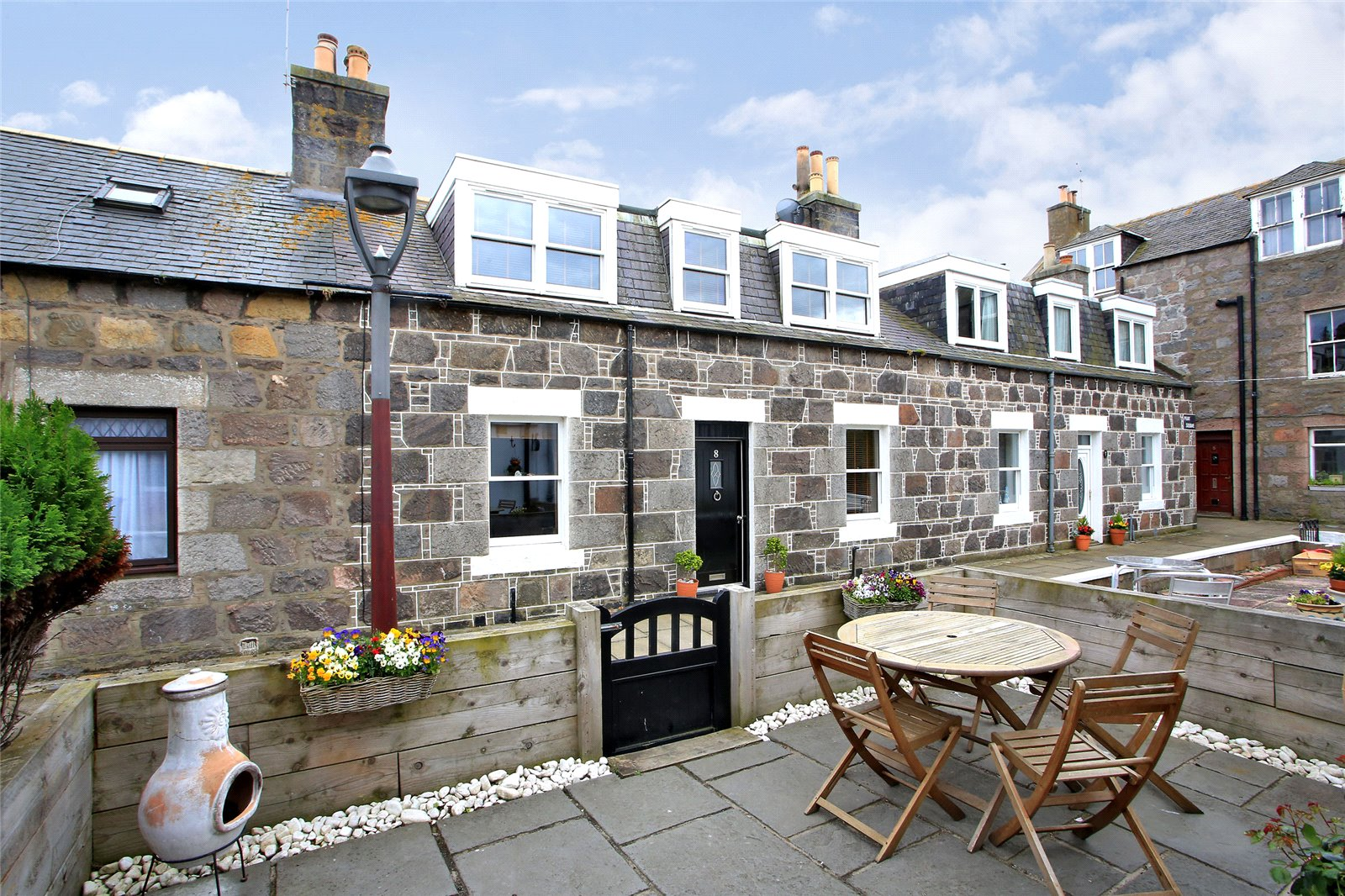 North-east fishing cottage in stunning restoration