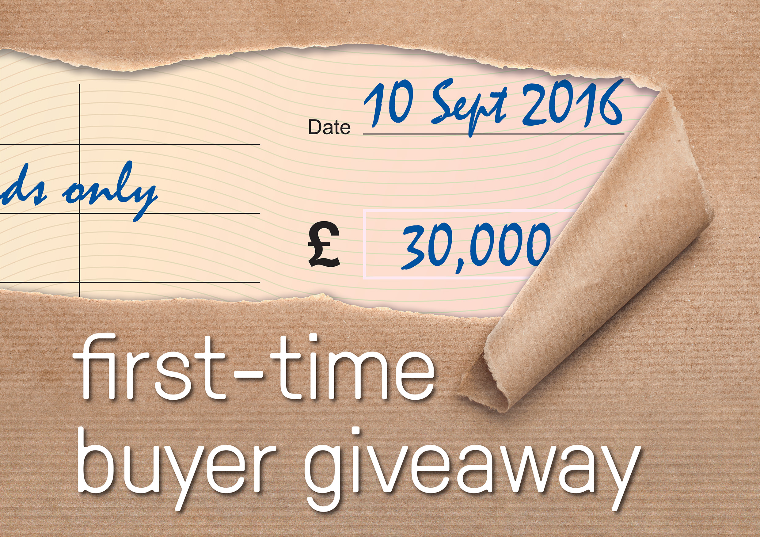 £30,000 giveaway for first-time buyers at special open day