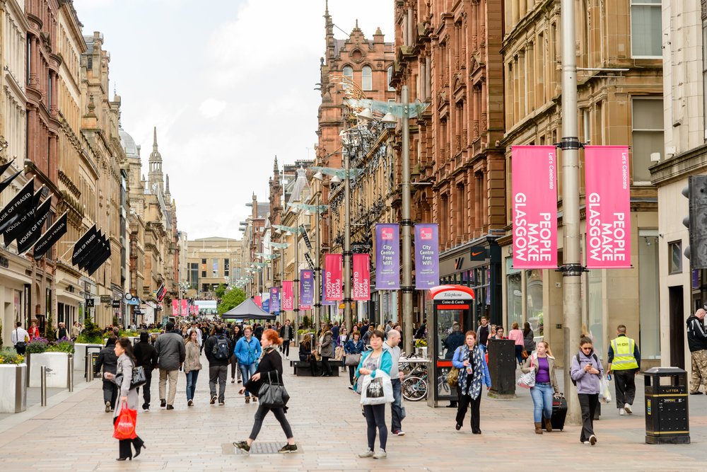 Rents in Glasgow have risen by 20% in just five years