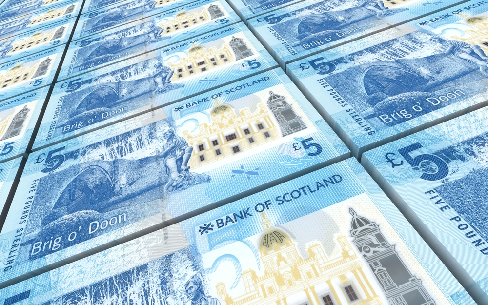 Scottish people are now worth more than £850billion