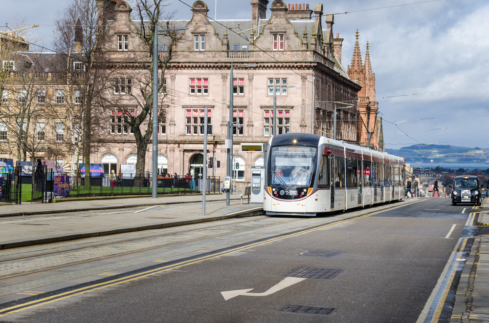 Trams 'have boosted property prices in Edinburgh'