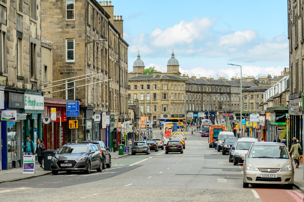 Edinburgh first-time buyers boost popularity of Dalry and Gorgie