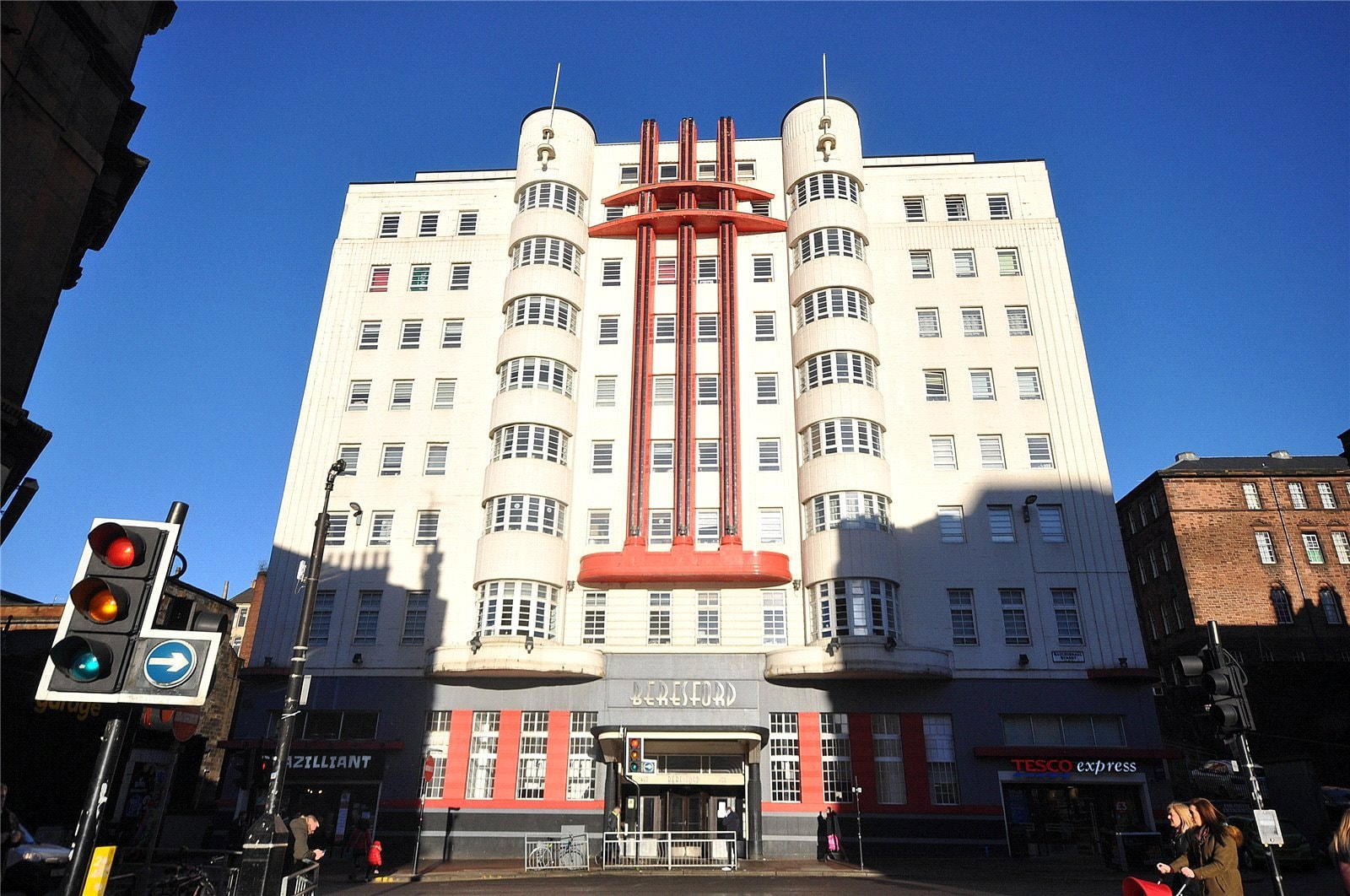 Apartment for sale inside this iconic art deco building