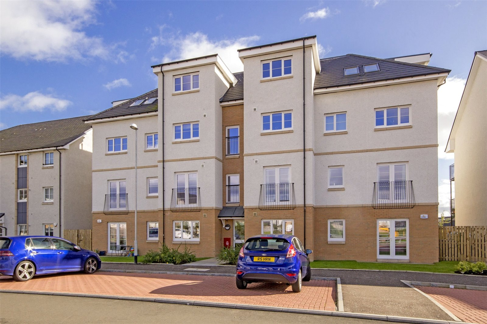 Only four flats left in this stunning development!