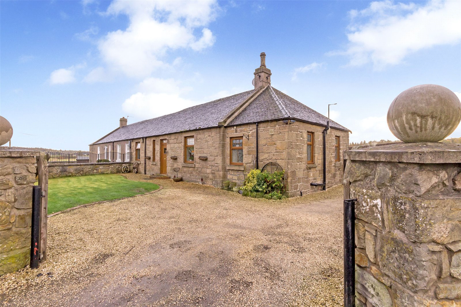 This Scottish cottage is absolute property perfection...