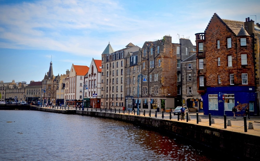 Leith named one of the best city locations to live in the UK