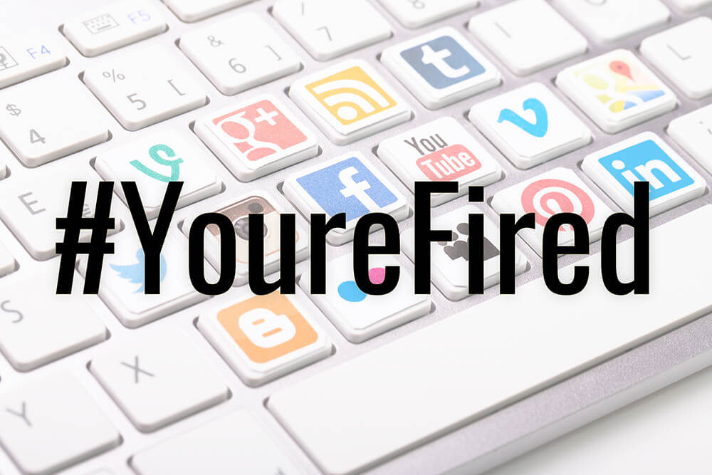 Can social media comments get you fired?