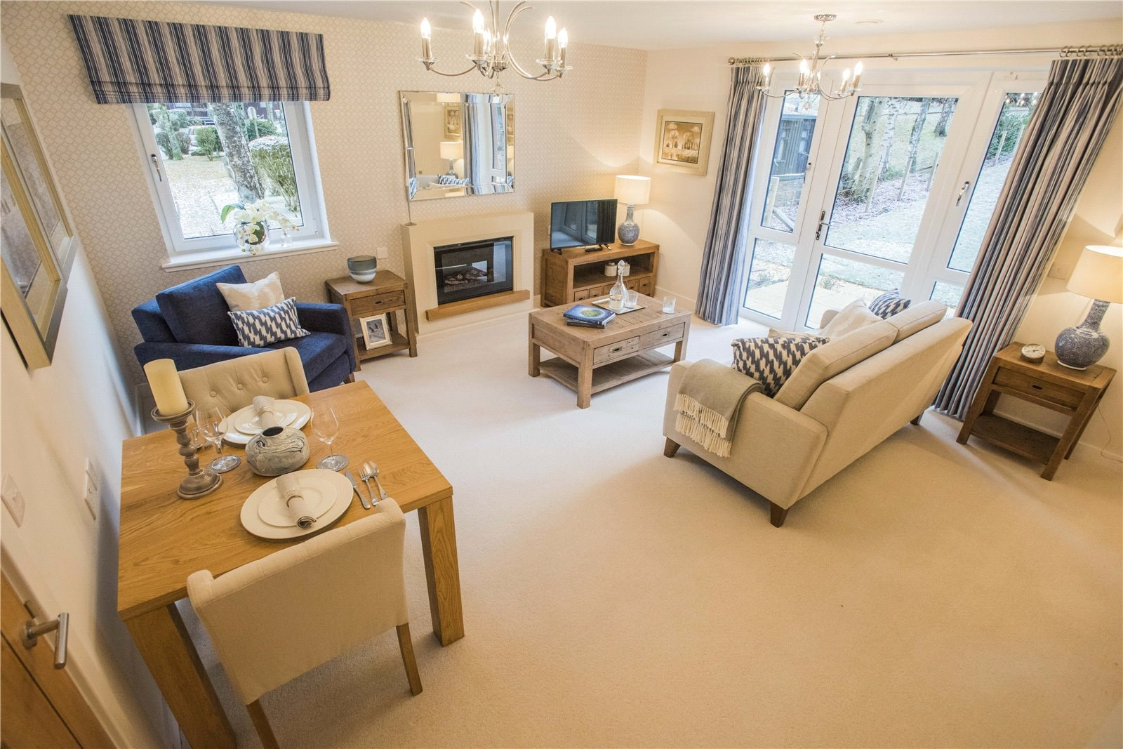 Luxury retirement homes for sale in the charming town of Blairgowrie