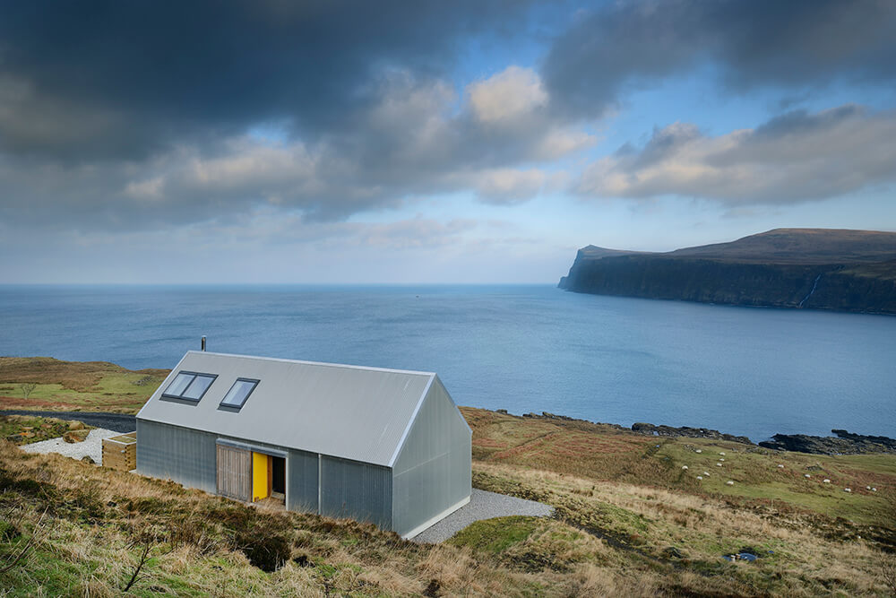 Is this tin house the best designed property in Scotland?