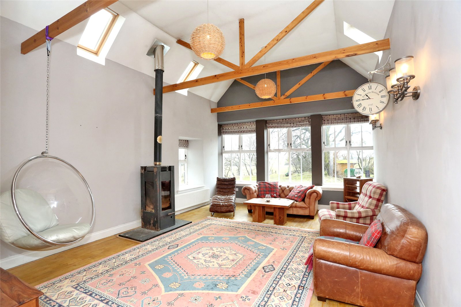 Traditional meets modern in 'Northseat Steading'