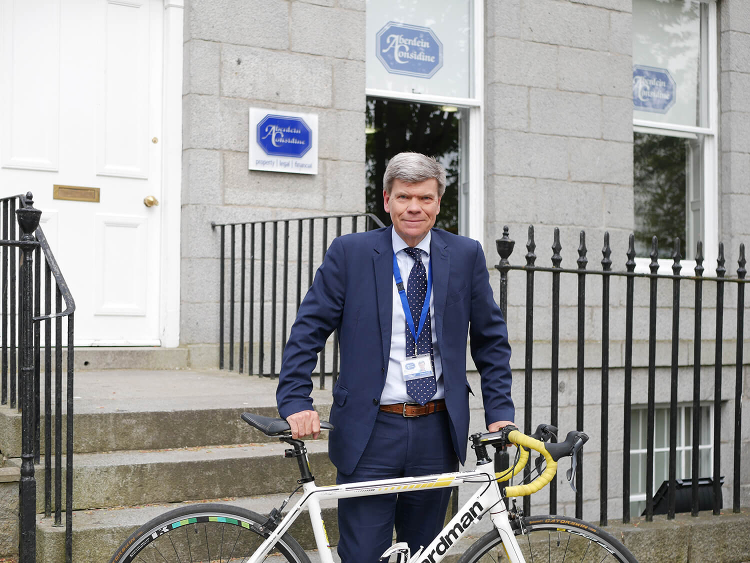 Aberdein Considine Partner embarks on four hundred mile charity bike ride
