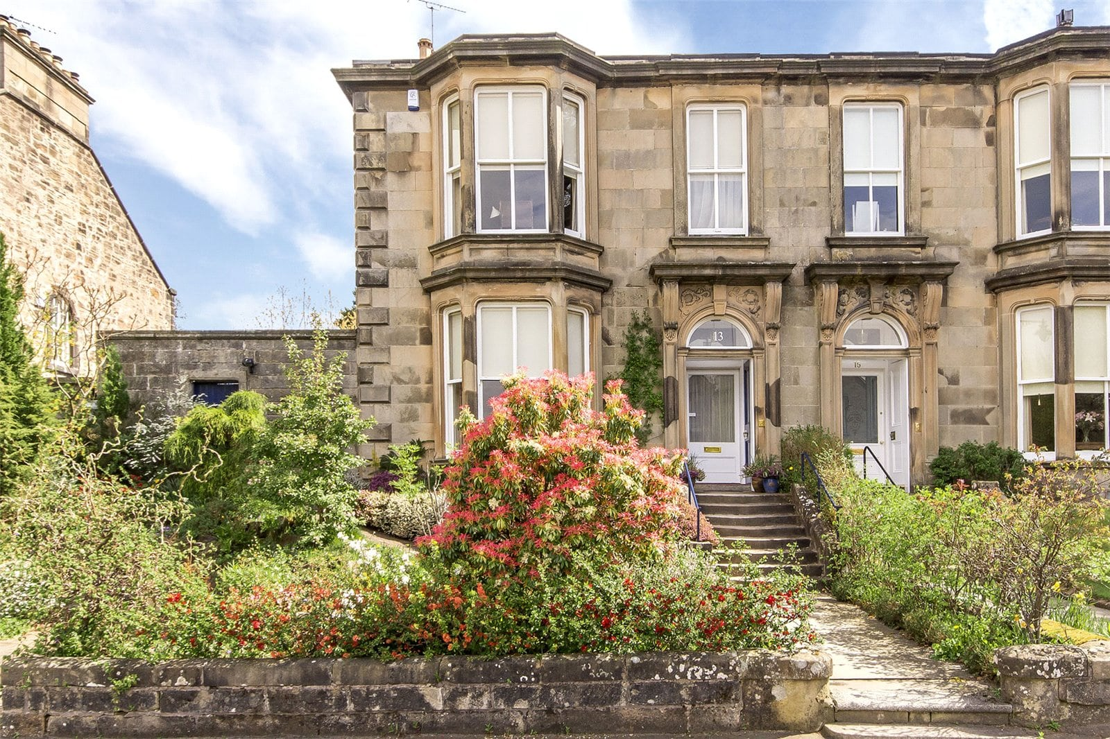 This grand Victorian house is new to the market this week...