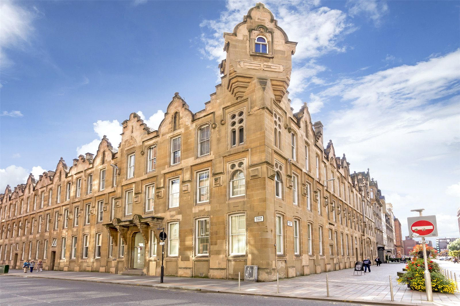 Quirky B-listed property in the Merchant City