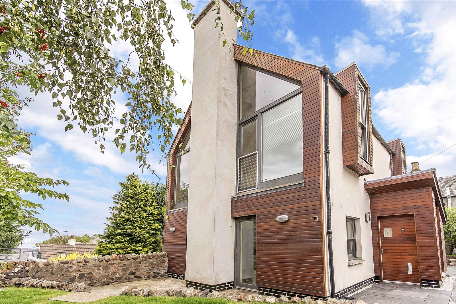 This architect-designed home is like no other on Perthshire's market
