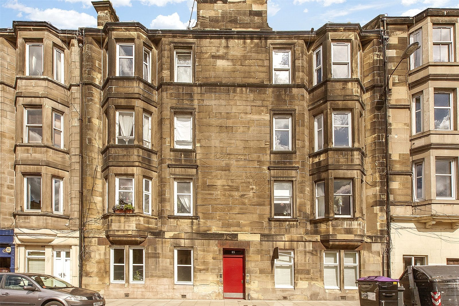 Beautiful flat in a great location with views of Arthur's Seat