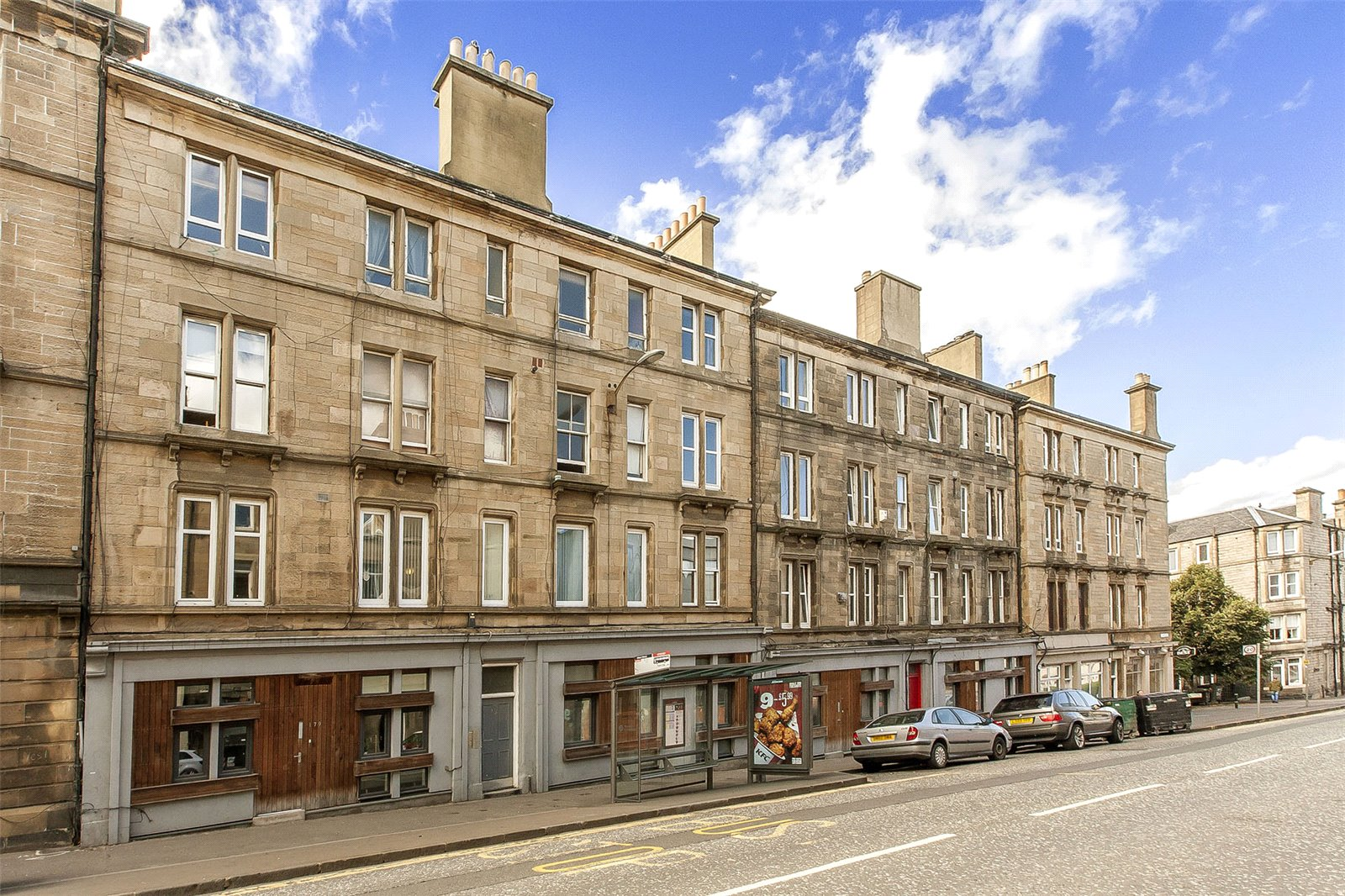 Tour inside this recently upgraded flat on Easter Road