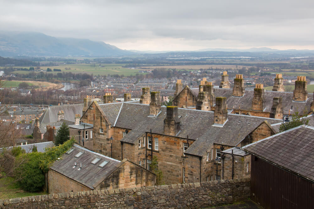 Stirling is top of the table in the UK for first-time buyers