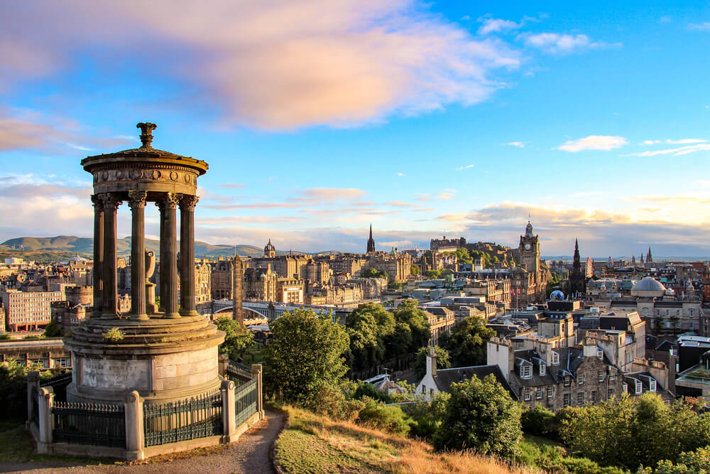 "Edinburgh named ""top UK destination outside London"""