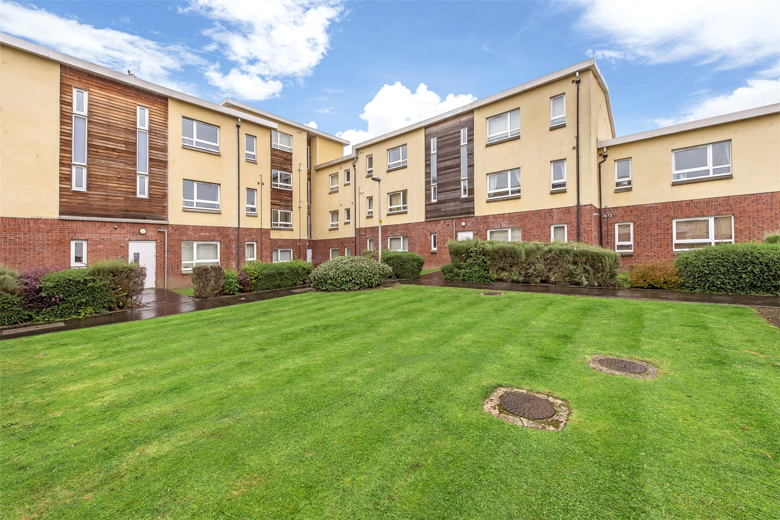 Affordable luxury: Immaculate top floor flat for under £200k