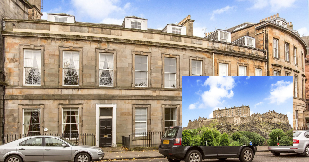 Fit for royalty: stunning apartment sitting at the foot of Edinburgh Castle