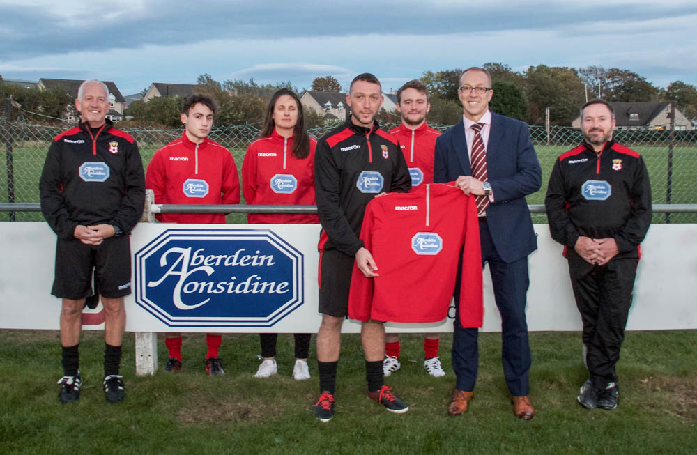 Local football team receives kit sponsorship boost