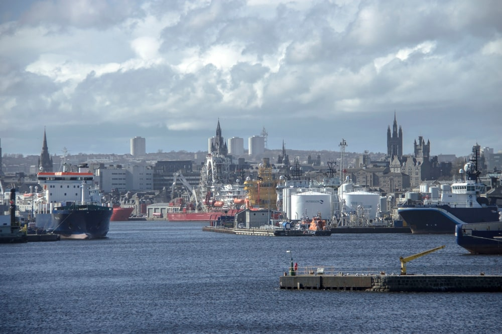 Aberdeen sees first signs of economic growth