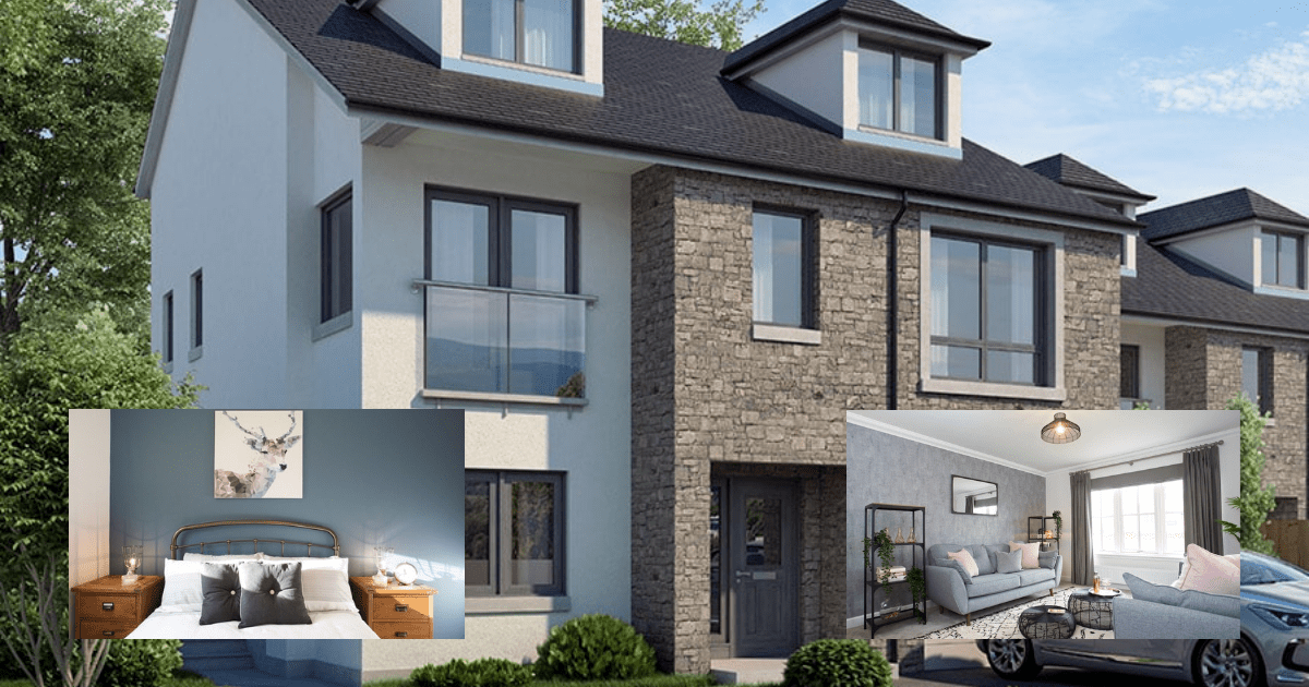 Luxury family homes in brand new Stonehaven development