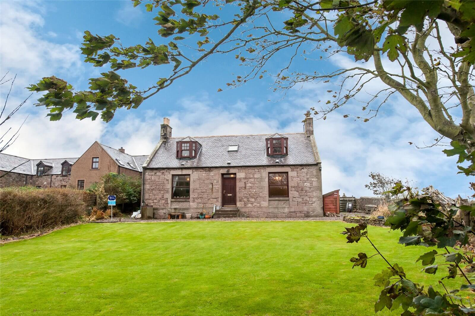 Massive saving on a detached farmhouse with spectacular views