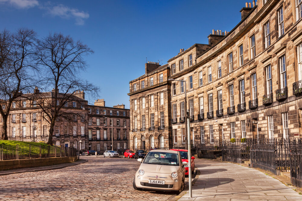 Edinburgh property prices boom by more than £77,000 in one year