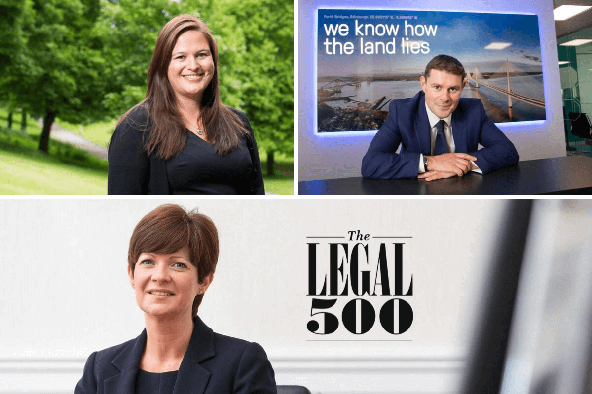 Aberdein Considine lawyers named among UK's finest by top legal guides