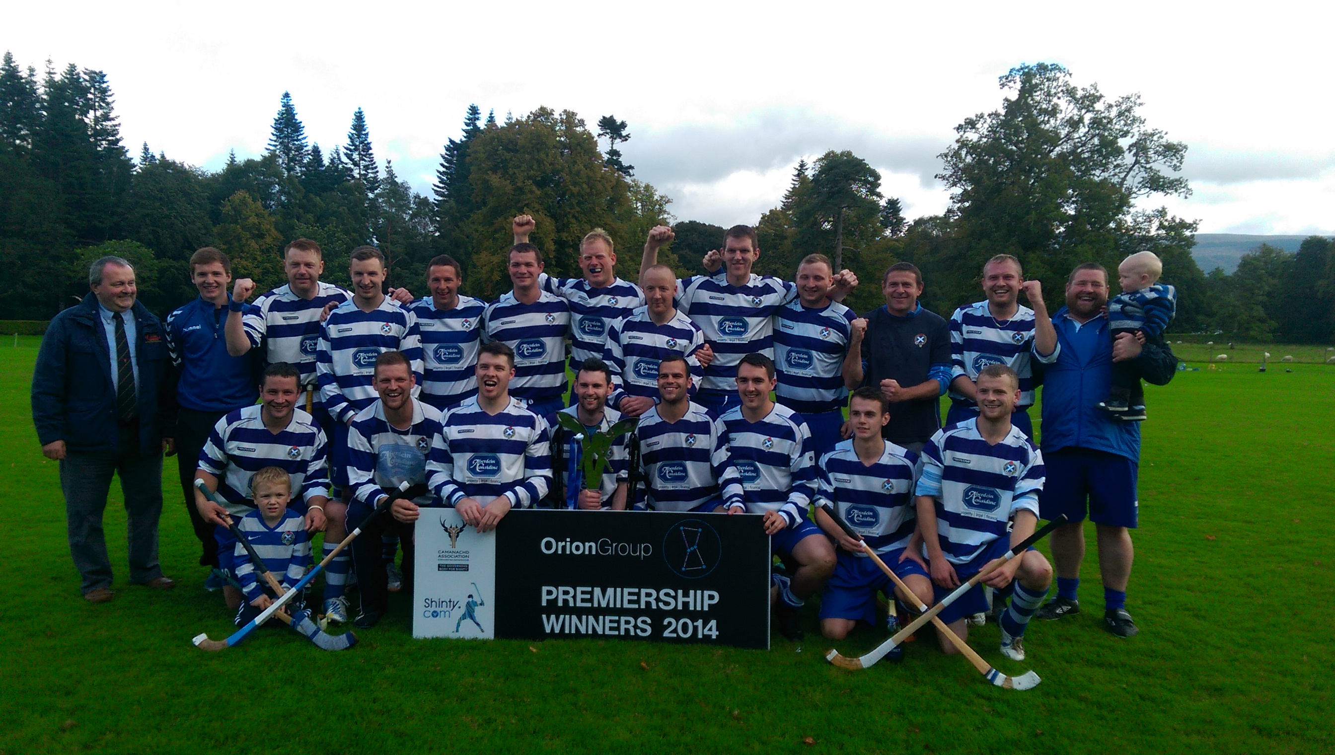 Congratulations to Newtonmore Cammanach Club - Orion Group Premiership Champions