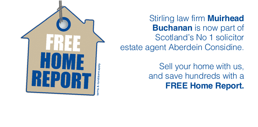 Free Home Report for new Stirling customers
