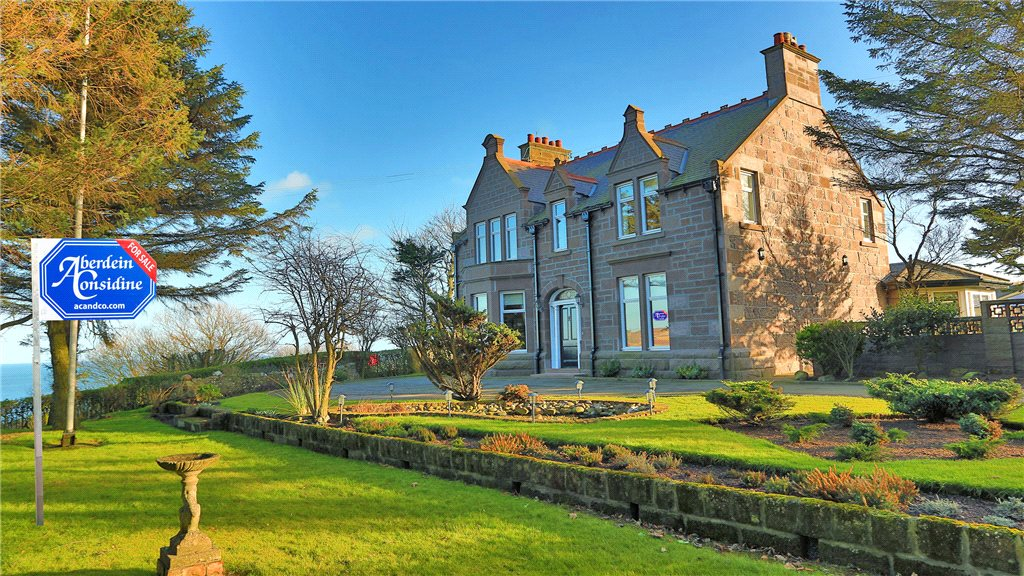 Redcliff, Coast Road, Stonehaven, Aberdeenshire - £850,000